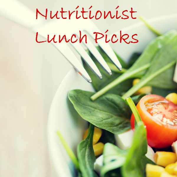 top nutritionist lunch picks